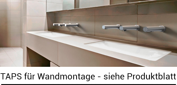 DAN DRYER Taps für Wandmontage